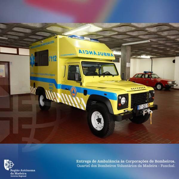 Ambulância Bombeiros 2madeira.gov