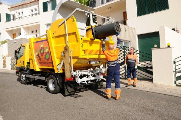 lixo resíduos contentor