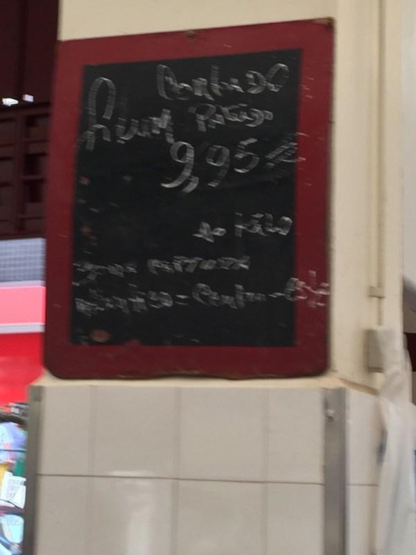praça preços