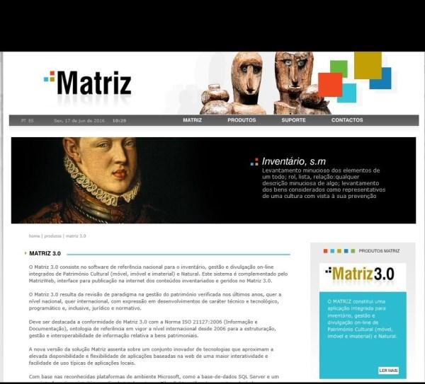 PROGRAMA Matriz 3.0