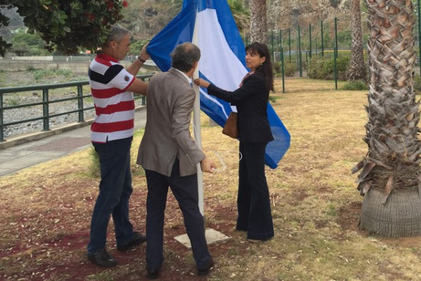 Susana Prada Bandeira Azul Faial