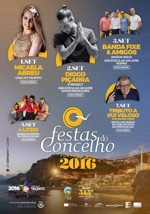 Festas do Concelho Ponta do Sol 2016