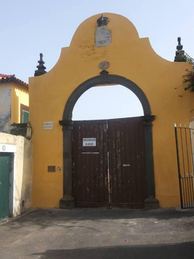 Fortaleza do Pico porta principal