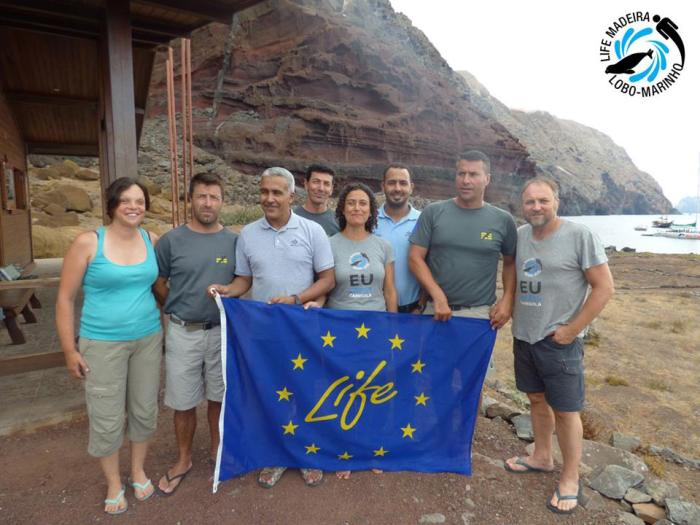 Lobo Marinho Fundação CCBD-Habitat da Mauritênia e de Espanha na Madeira 2016