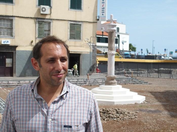 O arqueólogo Daniel Sousa tem acompanhado os trabalhos