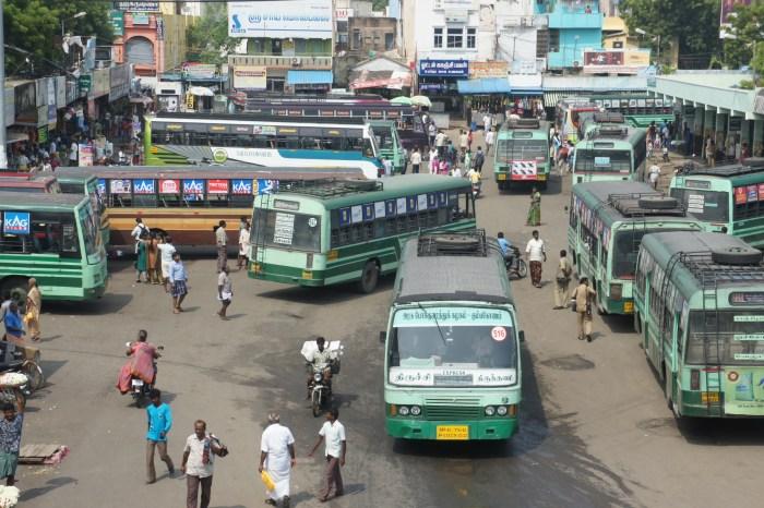 Central de autocarros de Kanschipuram
