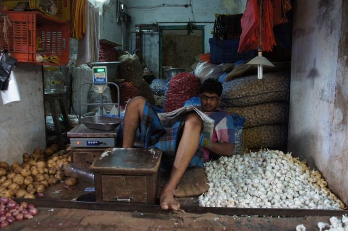 Mercado de Kanchipuram