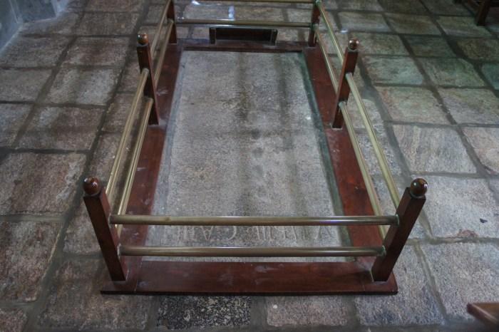 Túmulo de Vasco da Gama, hoje vazio: os seus restos mortais foram trasladados para os Jerónimos