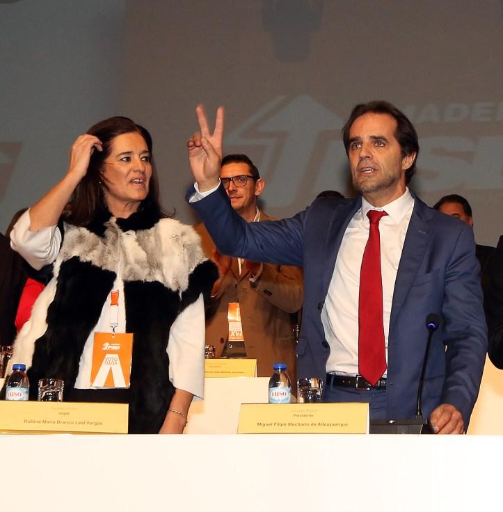 rubina leal miguel albuquerque congresso psd