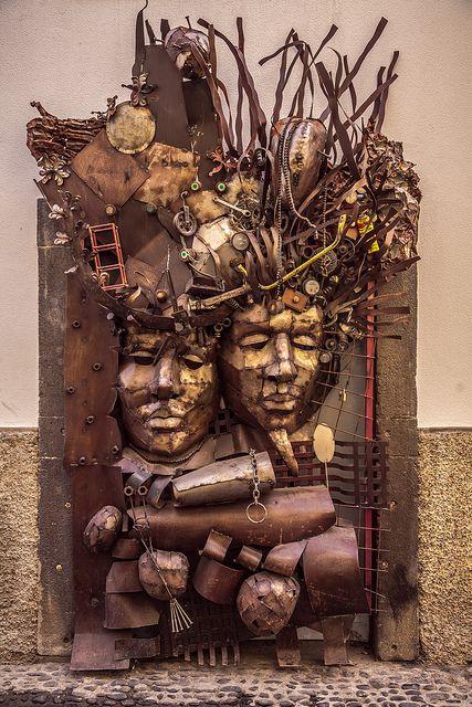 porta zona velha escultura josé fernandes