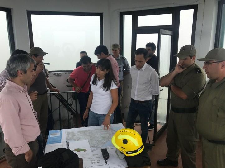 Susana Prada torre de vigilancia
