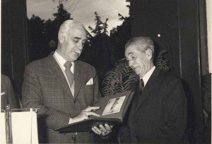 Vasco Florentino com Braamcamp Sobral