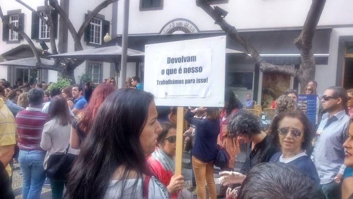 Professores protesto B