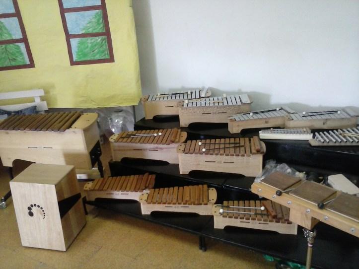 Escola Caniço8 Exposição dos instrumentos musicais JGPinto(2)
