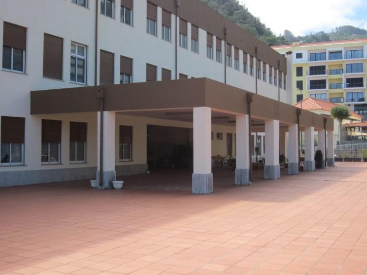 Sala de sessões da escola secundária Santa Cruz