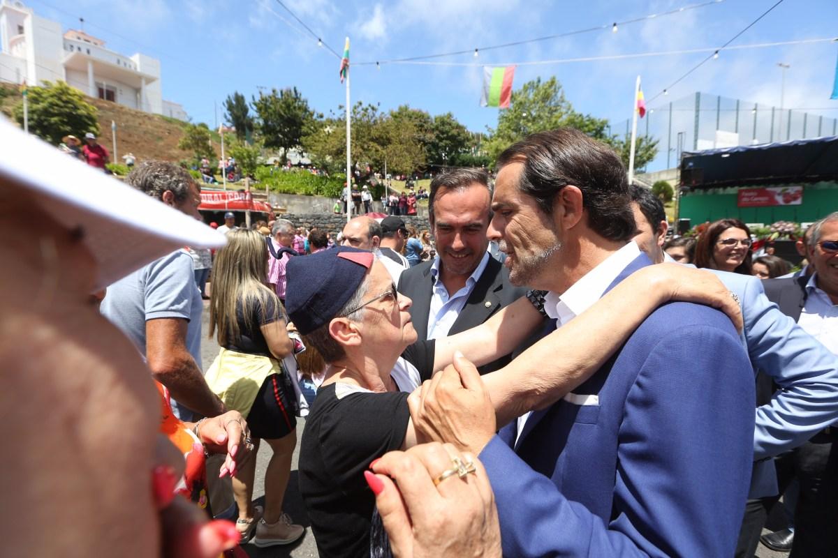 Albuquerque diz que Madeira está sob chantagem do Governo central e anuncia nova ligação, em túnel, entre Curral das Freiras e Jardim da Serra