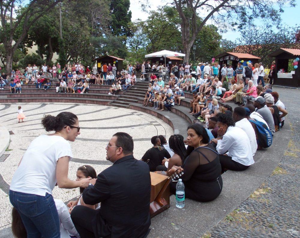 Diversidade cultural celebrada no Jardim Municipal