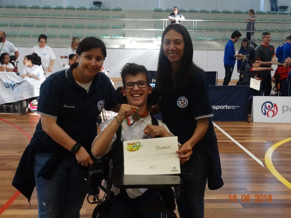 """Clube """"O Especiais"""" conquista 3º Lugar no campeonato nacional de Boccia"""