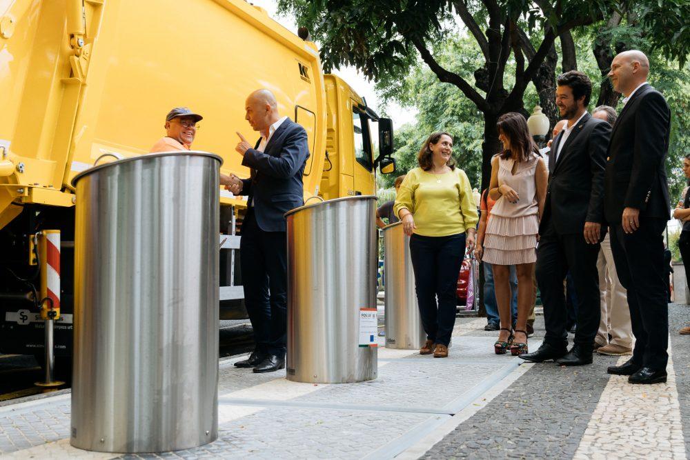 """Cafôfo apresentou ecopontos denominados """"Ilhas Ecológicas"""""""