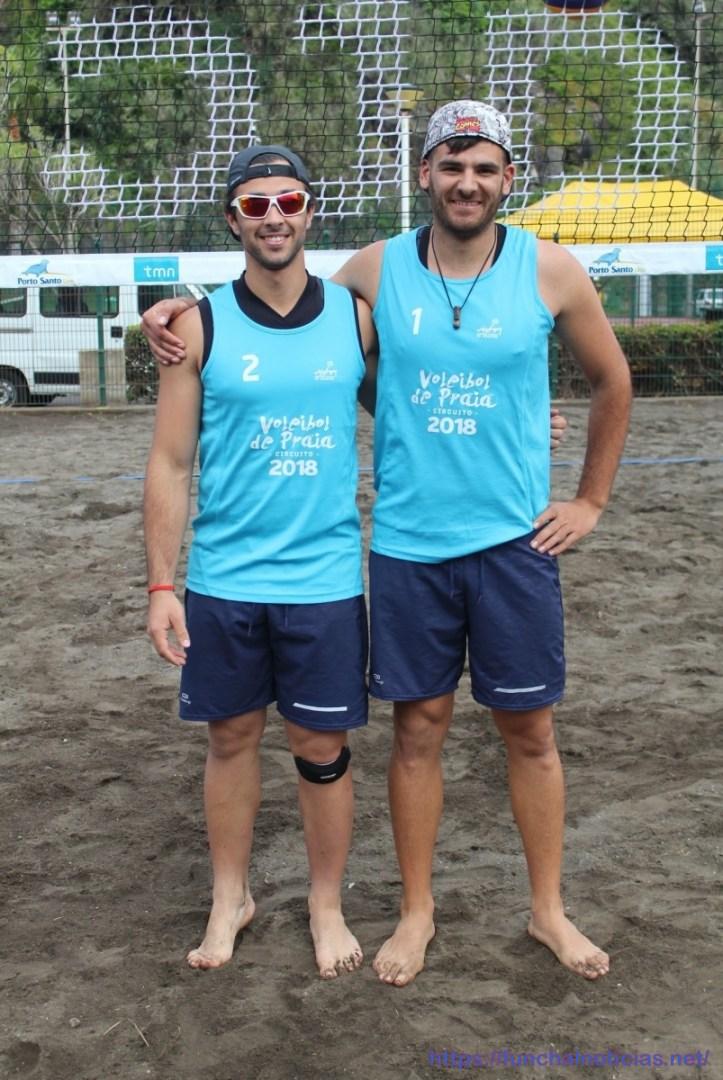 Voleibol praia Bernardo Rebolo e Vitor Gonçalves - 2
