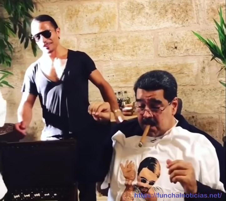 Enquanto o povo passa fome, Nicolás Maduro foi a um restaurante na Turquia e pagou mil dólares por uma refeição [vídeo]