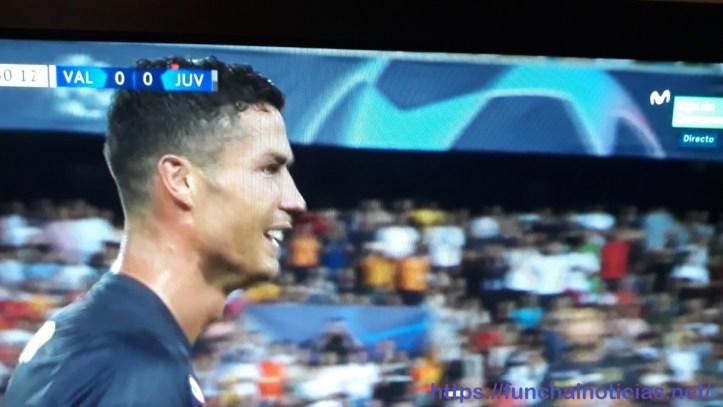Ronaldo sai chorando