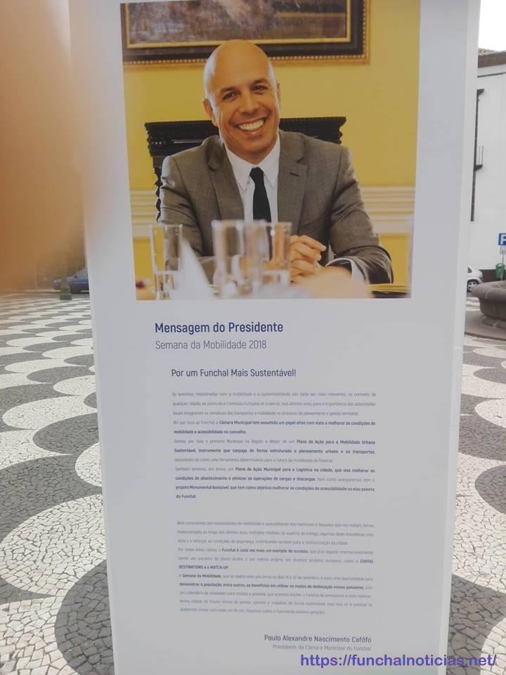 Carta aberta de Paulo Brito sobre a semana da mobilidade na cidade do Funchal