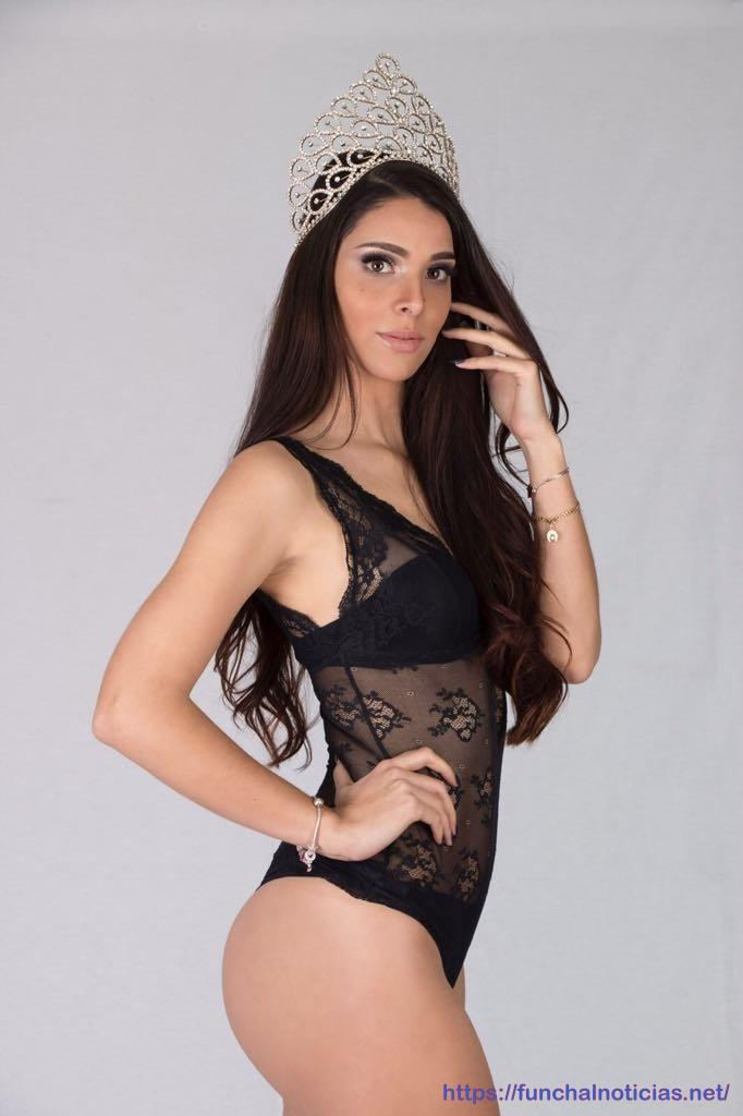 Madeirense candidata a Miss Globe 2018 domingo na Albânia