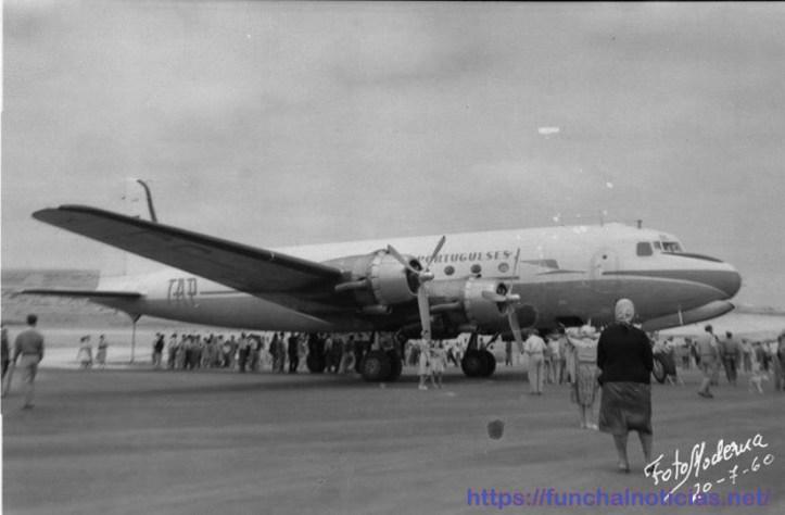 TAP Avião anos 60