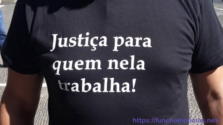 Trabalhadores judiciais camisola