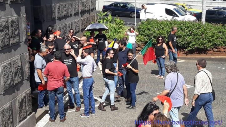 Trabalhadores judiciais greve