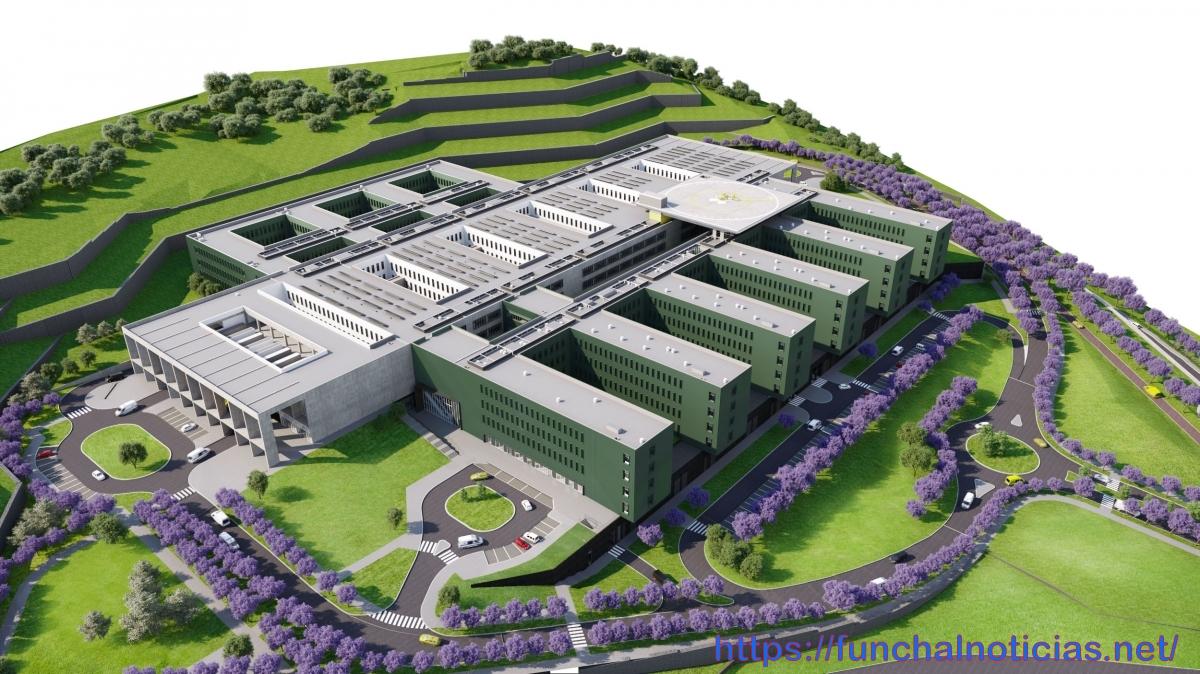 Veja o vídeo sobre o novo Hospital da Madeira