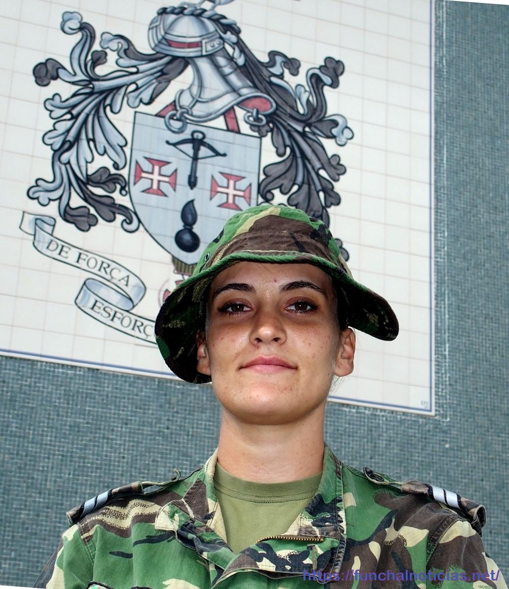 Verónica Barros, única mulher na Força Nacional destacada que parte em breve para o Iraque, anseia pelo desafio