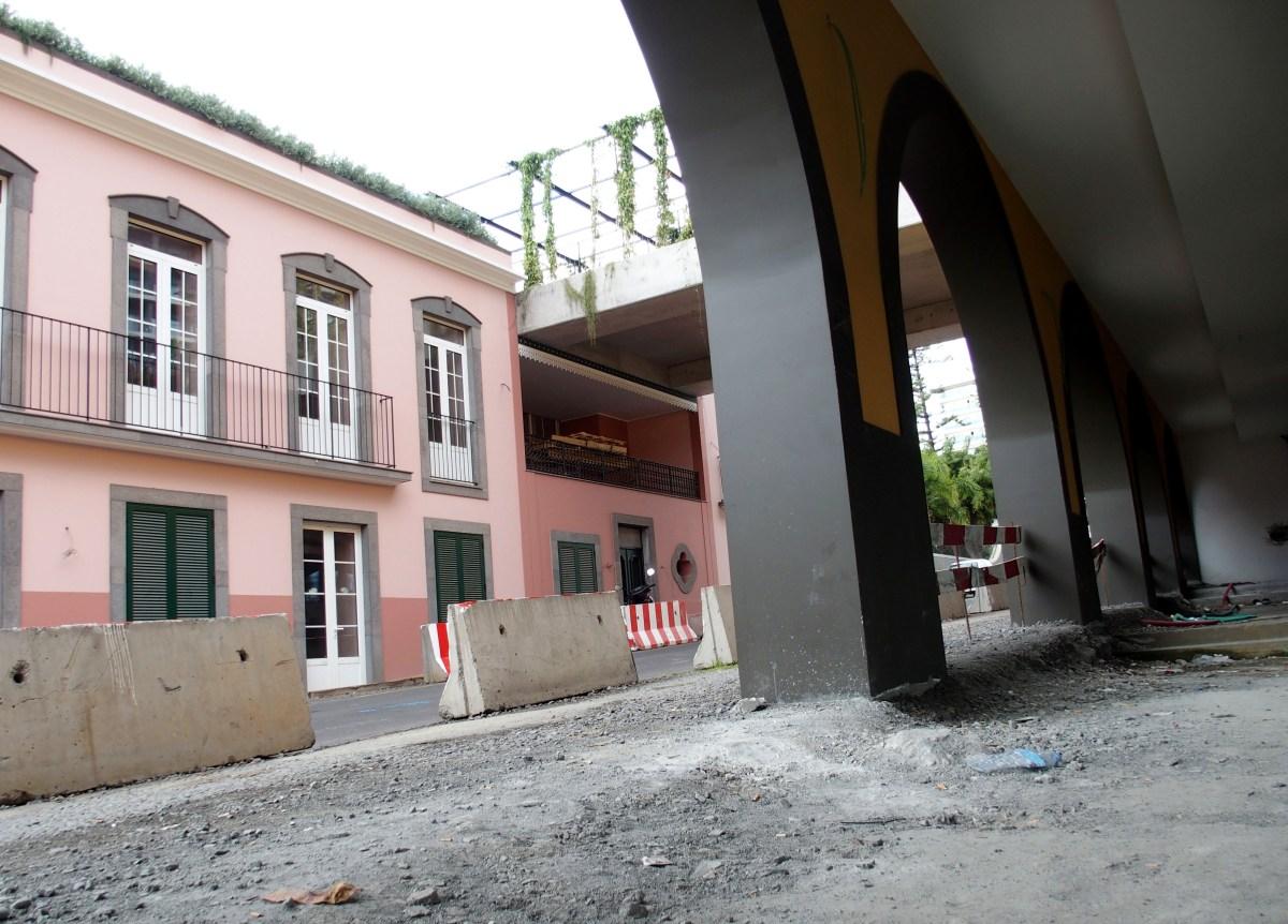 Obras na Rua Imperatriz Dona Amélia vão para o terreno no início de 2019 e já estão adjudicadas por 620 mil euros