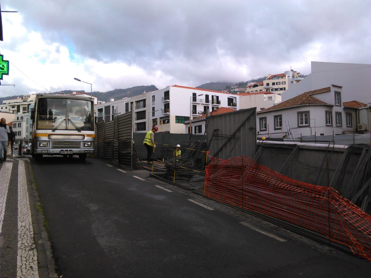 Obras retomadas na Ponte Nova
