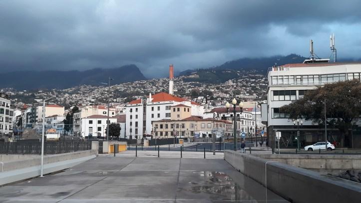 Fim do ano Funchal cinzento A