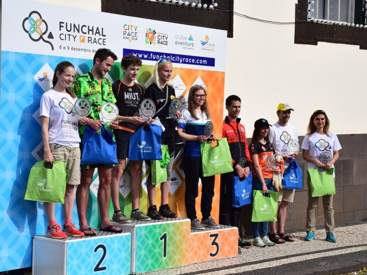 Funchal City race podio