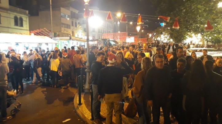 Mercado noite A