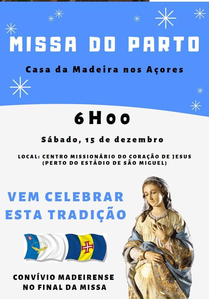 Missa do Parto - Açores