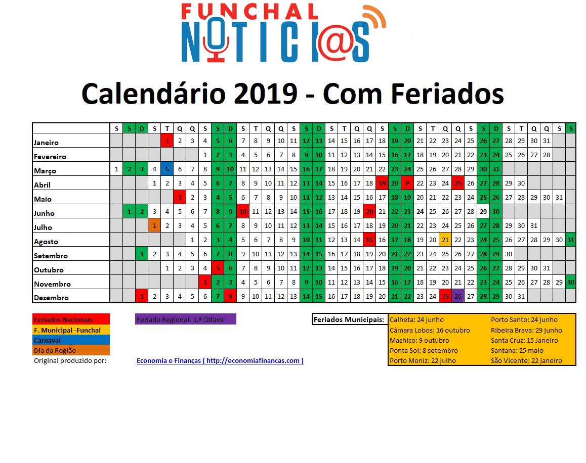 Confira Aqui Todos Os Feriados Na Madeira Em 2019 E Em Quais Pode
