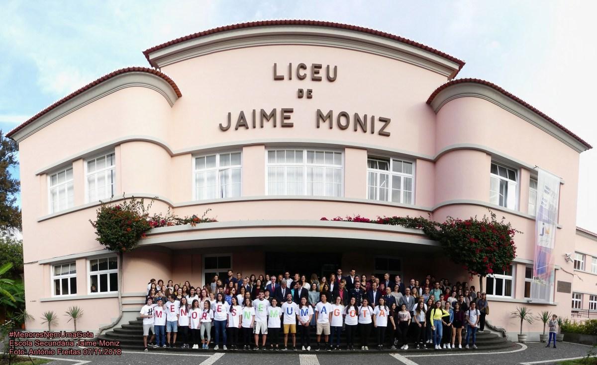 Jaime Moniz acolheu iniciativa #menoresnemumagota