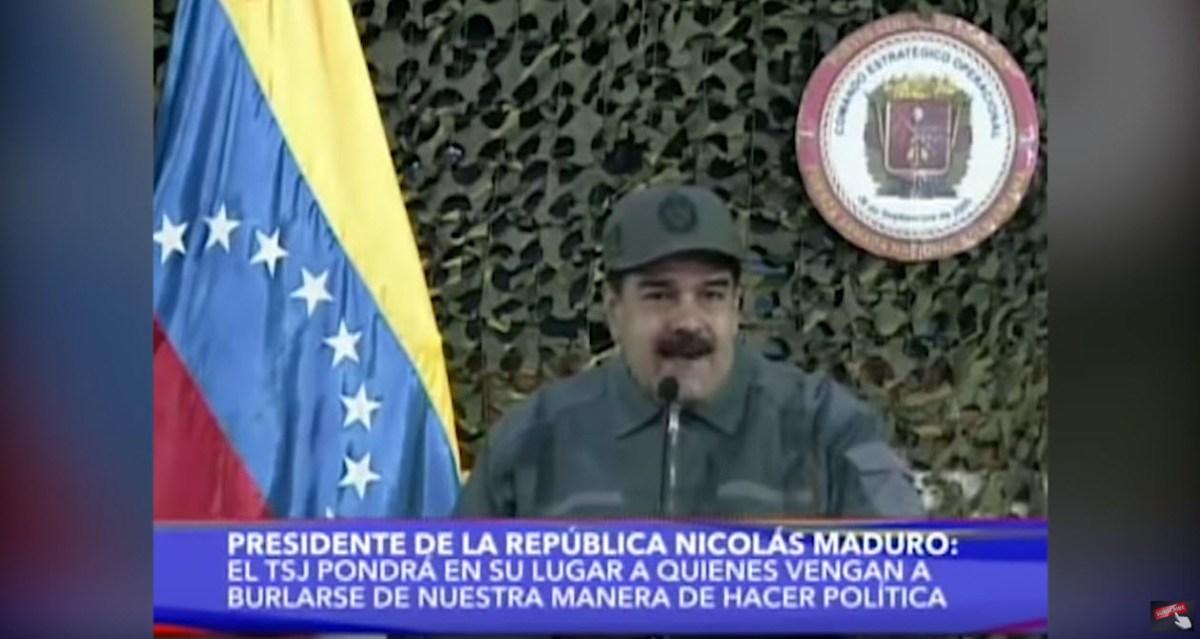 """Maduro diz que viajou até ao futuro e voltou com a certeza que """"tudo vai ficar bem no país"""" [vídeo]"""