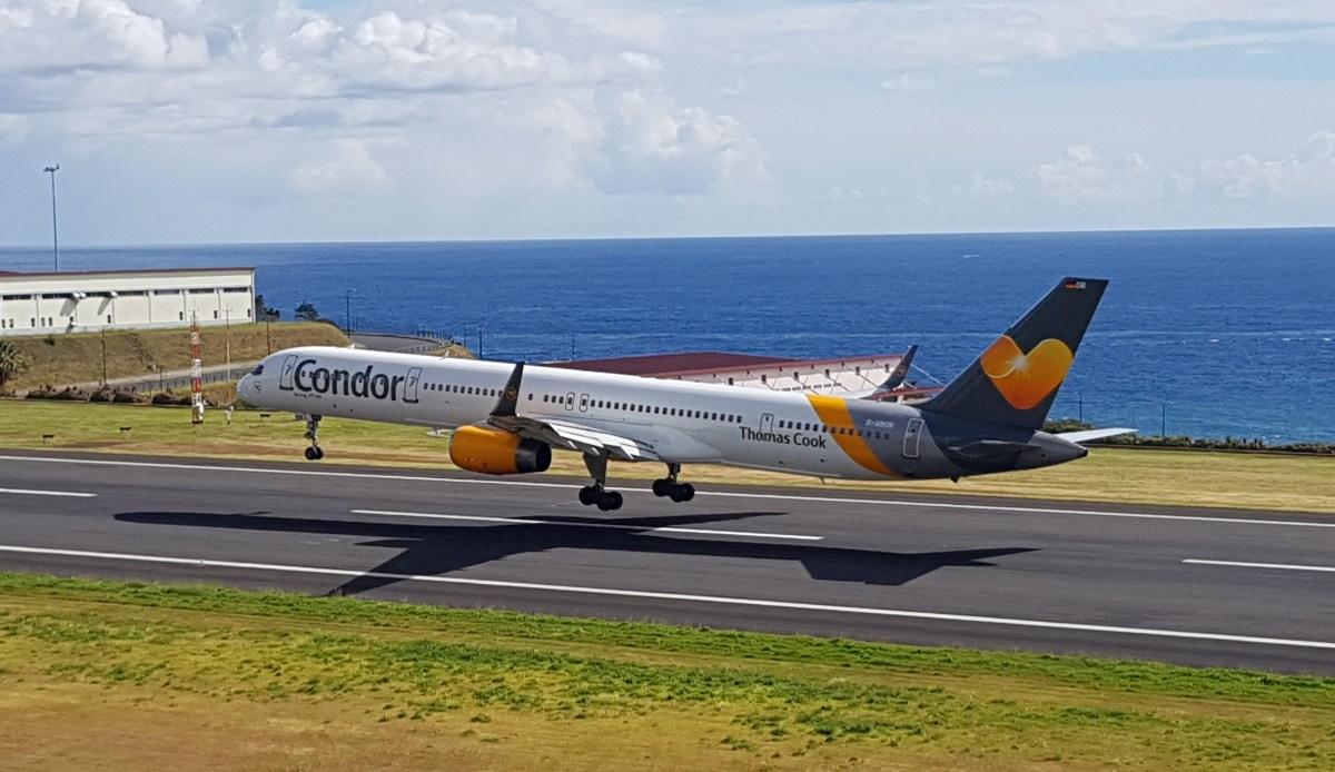 Aeroporto da Madeira aberto ao tráfego normal de aviões