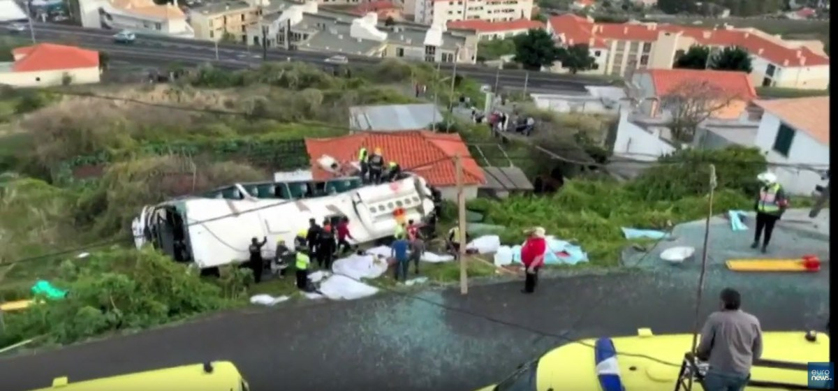 Acidente com autocarro na Madeira faz 29 mortos [vídeo]