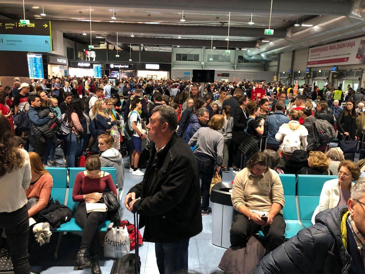 Confusão instala-se no terminal 2 do Aeroporto de Lisboa