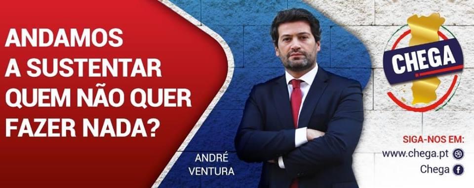 """Entrevista de André Ventura ao FN: """"Senti que o sistema não queria que o CHEGA se formasse"""""""