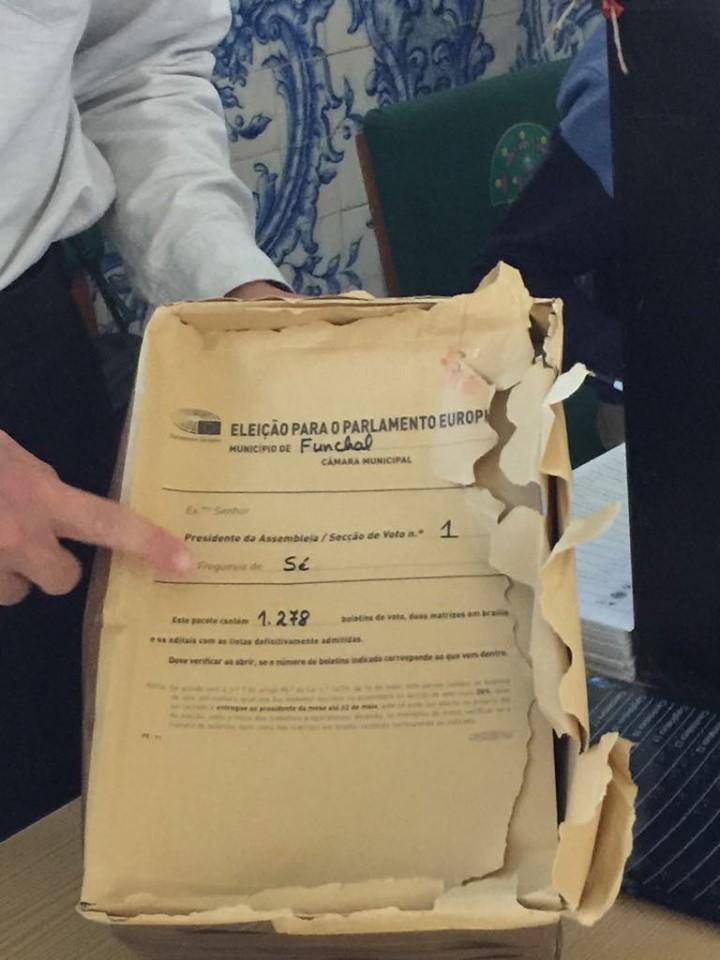 Votação para as europeias com fraca adesão matinal e dúvidas num pacote com 6 boletins em falta