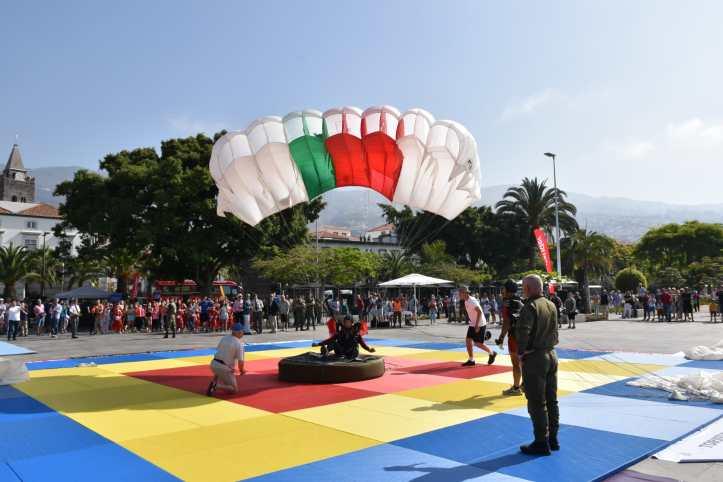 Paraquedismo torneio militar B 1 de junho