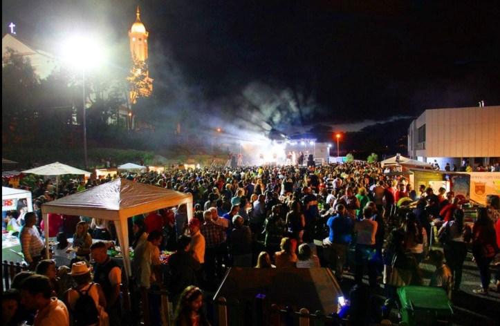 Festa venezuelana em S. Martinho