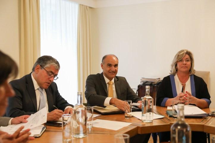 Governo RegionalHumberto Vasconcelos, Jorge Carvalho e Rita Andrade